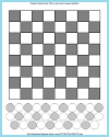 Free Printable Checkerboards