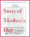 Mother's Day Story Word Search Puzzle