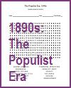 Populist Era Word Search Puzzle