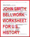 John Smith Bellwork Worksheet
