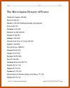 Merovingian Dynasty of France Outline
