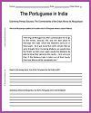 Portuguese in India DBQ Worksheet