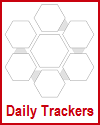 Daily Trackers to Use in Planners and Bullet Journals