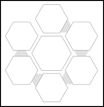 Hexagon Weekly Goal and Reward Tracker
