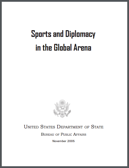 """Sports and Diplomacy in the Global Arena"" Learning Module"