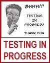 Shhh! Testing in Progress Classroom Door Sign