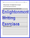 Enlightenment Writing Exercises