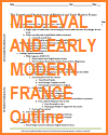 Growth & Development of Medieval & Early Modern France Outline