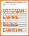 Ottoman Empire Writing Exercises