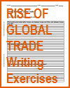 Rise of Global Trade Writing Exercises