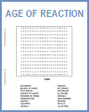 Age of Reaction Word Search Puzzle