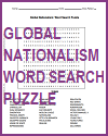 Global Nationalism Word Search Puzzle