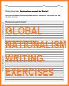 Nationalism Around the World Writing Exercises Worksheets