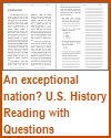An Exceptional Nation? Reading with Questions