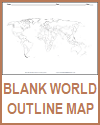 Blank Outline World Map Worksheet