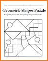 Geometric Shapes Puzzle #1