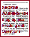 George Washington Biographical Reading with Questions
