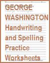 George Washington Handwriting Practice Worksheets