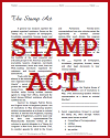 Stamp Act Reading with Questions