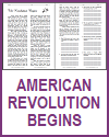 American Revolution Begins Reading with Questions