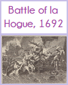 Battle of la Hogue, 1692