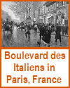 Boulevard des Italiens in Paris, France (1893)