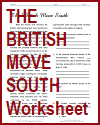 The British Move South Reading with Questions