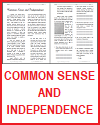 Common Sense and Independence Reading with Questions