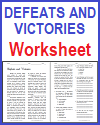 Defeats and Victories Reading with Questions