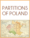 Partitions of Poland Map