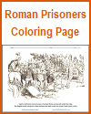 Roman Captives Passing under the Yoke Coloring Page