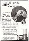"Colgate's ""Handy Grip"" Refill Shaving Stick Ad"