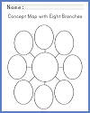 Concept Map with Eight Arms