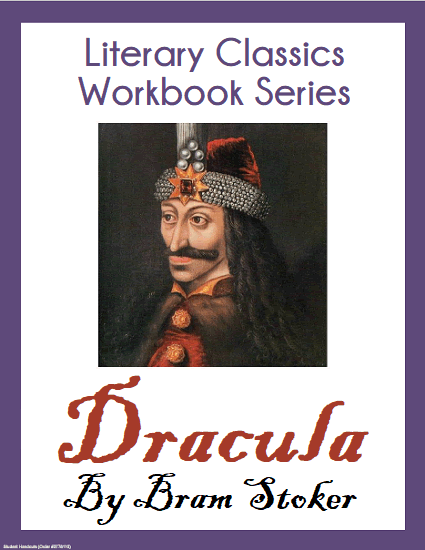 Dracula by Bram Stoker Literary Classics Workbook - Free to print (PDF file). Complete unabridged text with questions and activities, 248 pages in length.