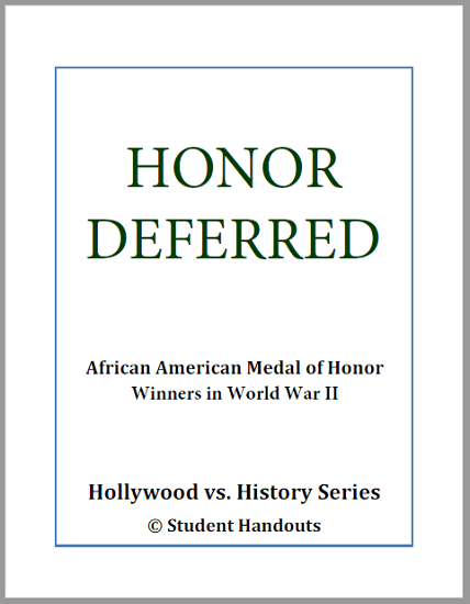 Honor Deferred (2006) - Free printable workbook (PDF file) to accompany this award-winning documentary film.