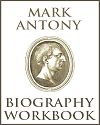 Mark Antony Biography Workbook