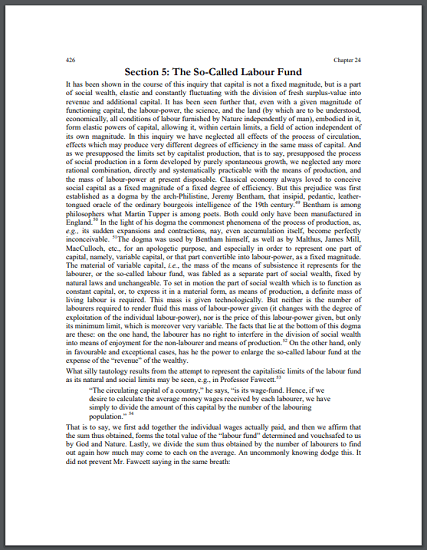Karl Marx on Jeremy Bentham - Primary source document is free to print (PDF file).