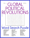 Political Revolutions Word Search Puzzle