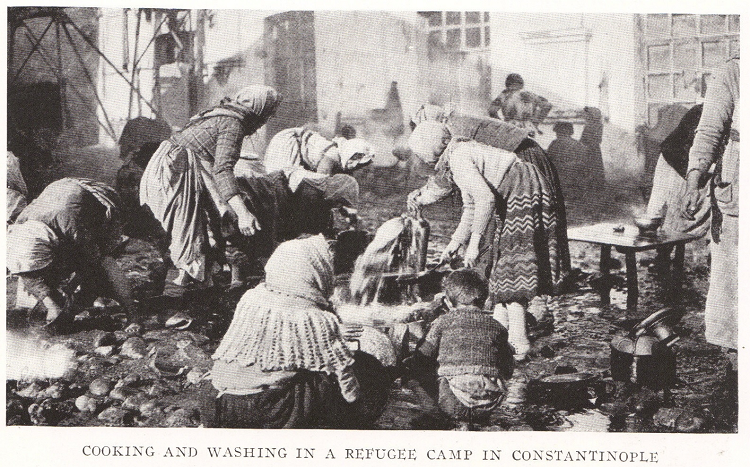 Refugee Camp in Constantinople (1922)