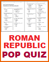 Roman Republic Quiz with 20 Multiple-Choice Questions