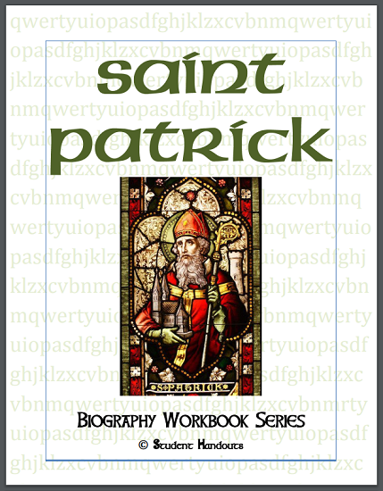 Saint Patrick Biography Workbook - Free to print (PDF file).