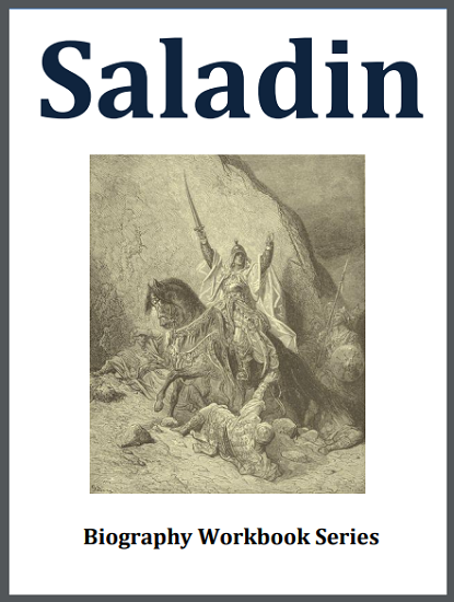 Saladin Biography Workbook - Free to print (PDF file) for high school World History students.