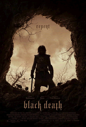 Black Death (2010) - Movie review and guide for high school World History teachers.