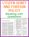 Citizen Genet and Foreign Policy Reading with Questions