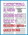 Launching a New Domestic Policy Reading with Questions