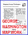 Mapping George Washington Worksheet