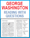 George Washington Reading with Questions
