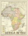 Map of European Imperialism in Africa