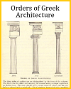 Orders of Classical Greek Architecture