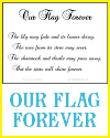 """Our Flag Forever"" for Classroom Display"